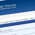 We just updated our forums layout and database system. So dont hesitate to drop by and start a discussion! :) http://board.echowidemusic.com